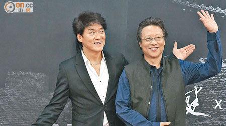 周华健(左)推出新碟后,自称可以退休了。