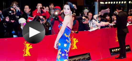 [独家视频]《白鹿原》主创走红毯 张雨绮鱼尾裙惹眼