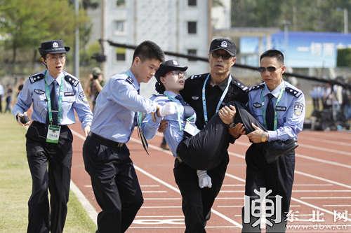 谁知道哪里有做公安教官服的_渭南公安警务实战教官培训班在合阳警训基地开班
