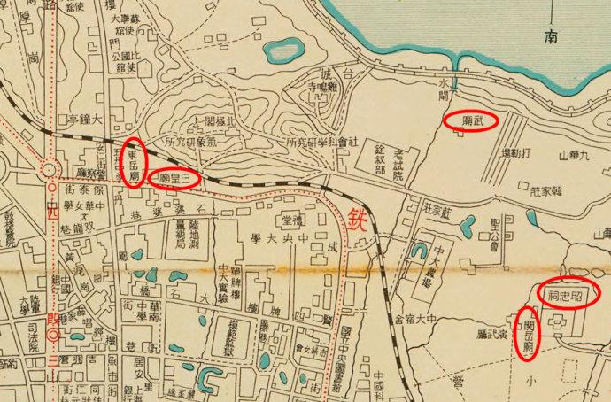明朝曲沃县地图