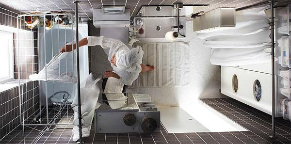 浴室装修规划大招 2.7平米小浴室相当于水疗间