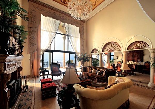 巴洛克风格别墅遇上地中海景色 阳光海岸的极致浪漫