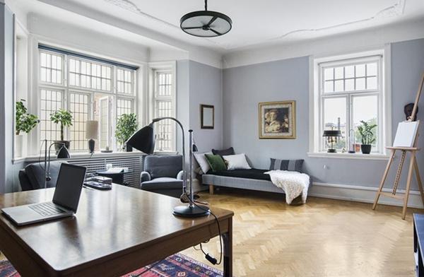 瑞典不规则空间小公寓 转角处也能遇到惊喜