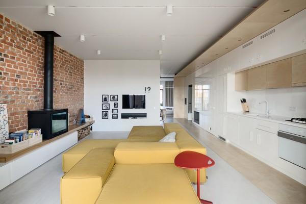 如果你崇尚个性 那么在家里打造一面斑驳的红砖墙吧!
