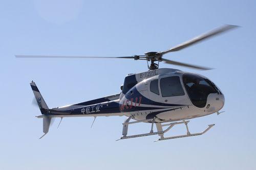 中国某新型直升机采用国际先进水平旋翼系统