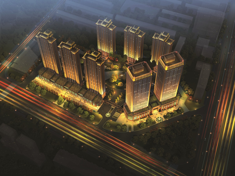 天津北辰双街规划图 天津北辰双青新家园