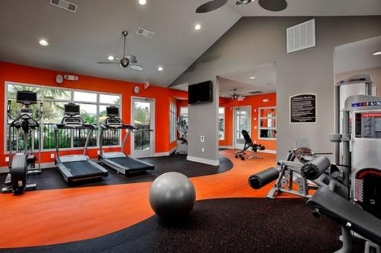56款型男最爱的家庭健身房设计