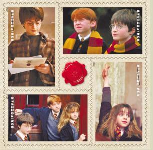哈利-波特主题邮票-哈利 波特 上美国邮票遭质疑 因为不是美国人