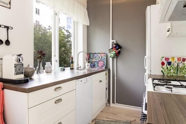 瑞典43平米大地风公寓 小户型装修技巧