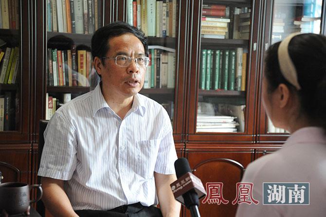 朱汉民专访现场