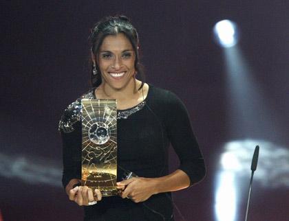 FIFA世界足球小姐三候选:玛塔PK摩根瓦姆巴赫