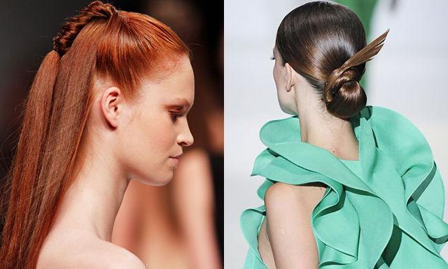 善变发髻 它适合所有的长发姑娘图片