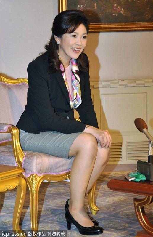 50张图时尚解析泰国总理英拉