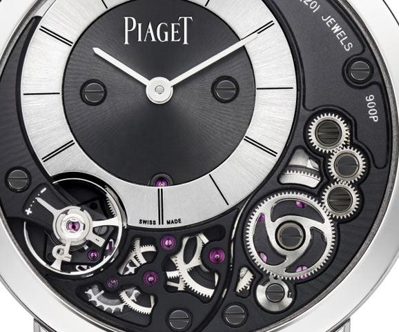 玫瑰金超薄机械手表   名牌手表伯爵G0A44060