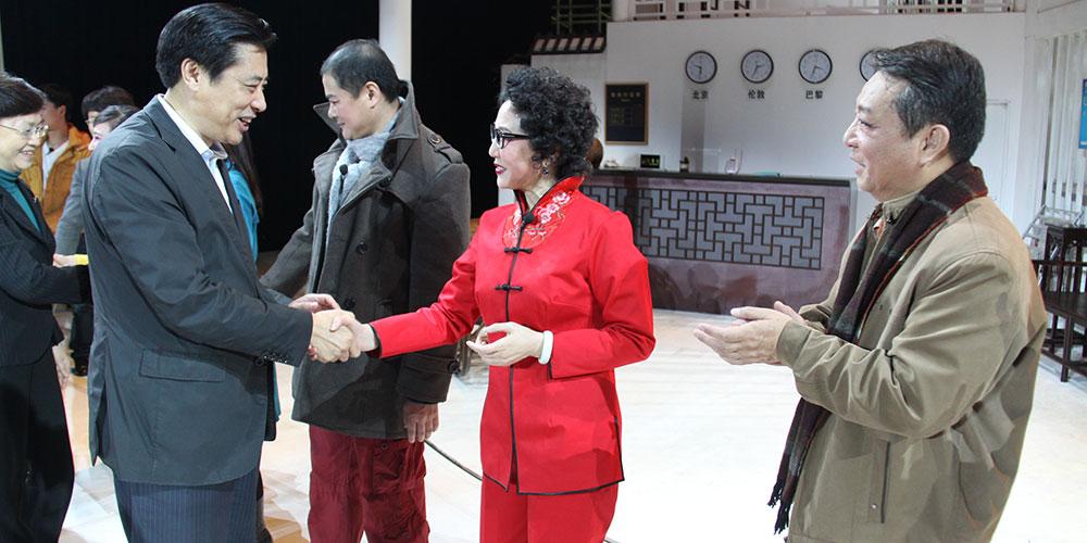 文化部副部长董伟接见顾芗