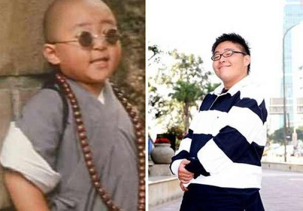 演戏天分被发掘,1994年与释小龙一起出演朱延平导演之《新乌龙院》中图片