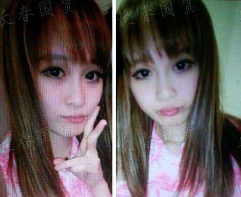 赵本山17岁漂亮女儿自拍照