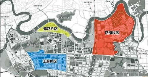 五象新区各片区地图