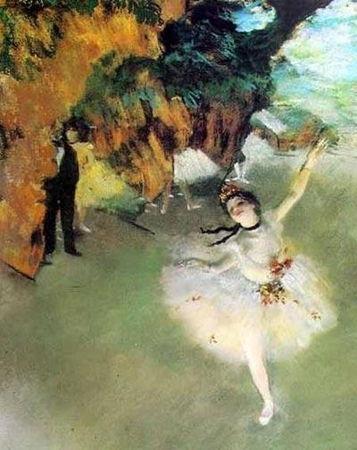 人文 > 正文   在19世纪的法国印象派画家团体中,德加和塞尚可谓独行图片