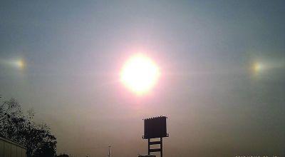 """江苏/江苏上海多地现""""3个太阳"""""""