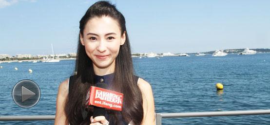 """专访张柏芝:过去要淡然面对 与霆锋关系""""不紧张"""""""