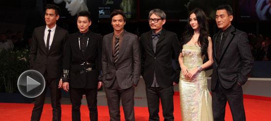 《太极》威尼斯首映红毯秀 Angelababy女神范十足