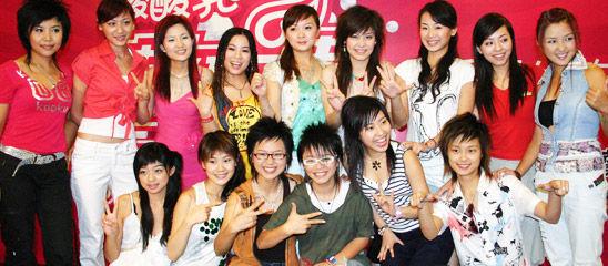 选秀十年:历届超女快男大合影