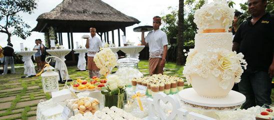 直击:杨幂刘恺威巴厘岛大婚 现场布置曝光