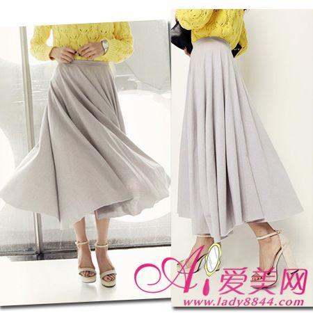 夏季雪纺长裙优雅飘逸 高矮都能穿