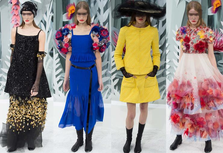 Chanel 2015春夏巴黎高定秀