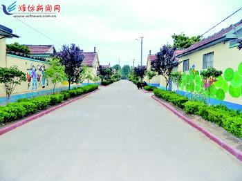 昌邑柳疃镇地图