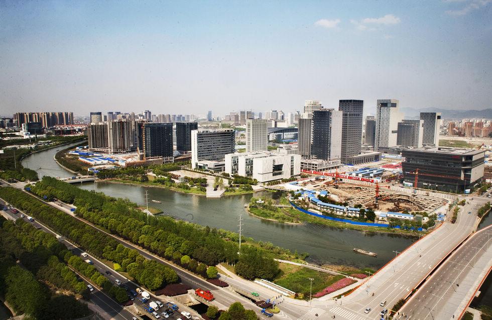 宁波东部新城图片 宁波东部新城指挥部 宁波东部新城高楼