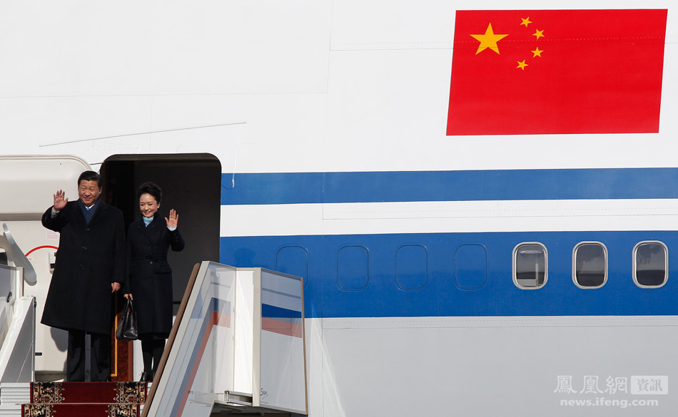 习近平抵莫斯科 开始对俄访问 - 人在上海  - 中華日报Chinadaily