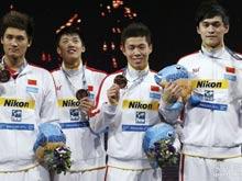 游泳世锦赛,孙杨,接力,铜牌