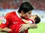 孔卡与儿子