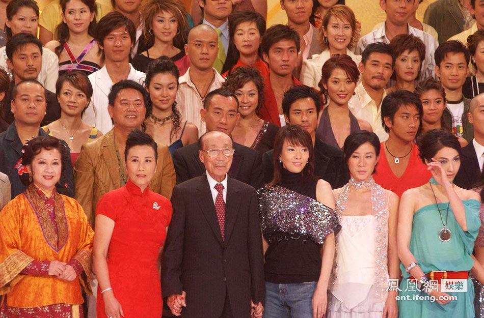 有资历陪在邵逸夫身旁的TVB女星 - 人在上海    - 中華日报Chinadaily