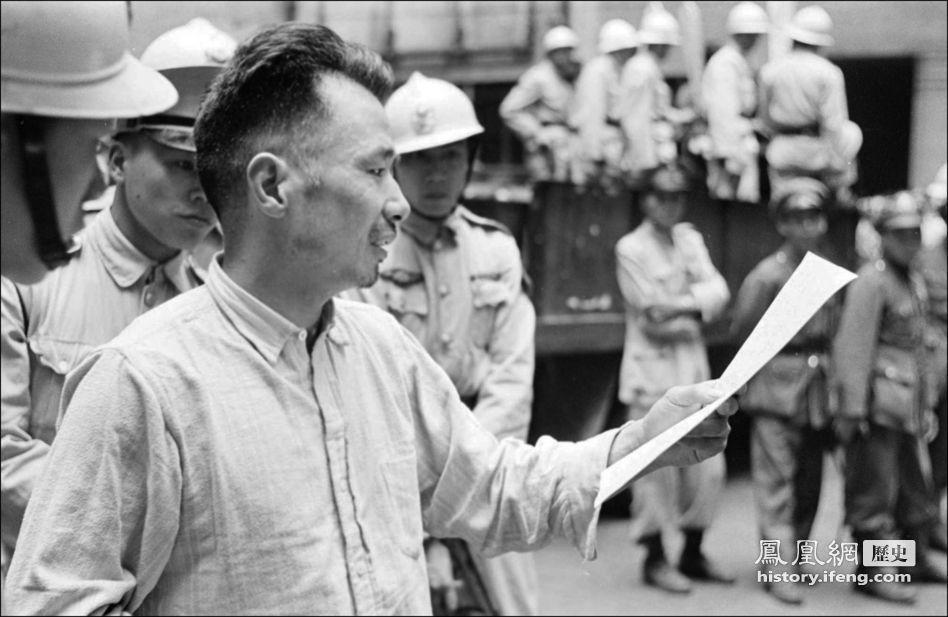 上海 哈里森/民国三十八年(1949年)5月11日,上海。死刑犯人在临刑前。(...