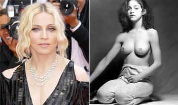 麦当娜1979年全裸写真曝光 报酬仅25美元