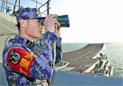 传解放军在南海建堡垒区