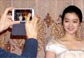 中国餐厅的朝鲜美女
