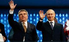 国际奥委会主席高度评价索契冬奥会