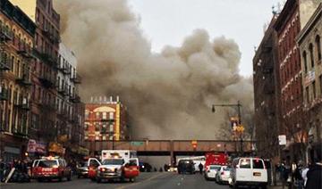 曼哈顿爆炸现场