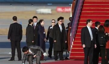 米歇尔在北京