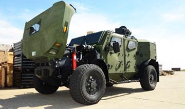 悍马终结者 美军打造军车混合动力ULV