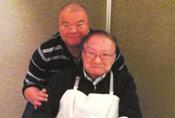 92岁金庸与儿子合照曝光