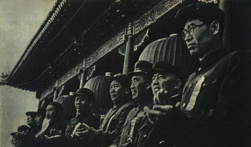 高岗获得谁的支持后才敢放手攻击刘少奇和周恩来?
