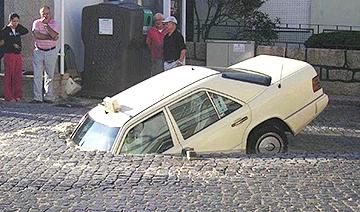 令人匪夷所思的离奇车祸事故现场