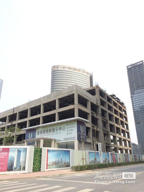 已经有企业正式入驻的楼宇仅有浙商大厦,五矿大厦两处,两者分别在