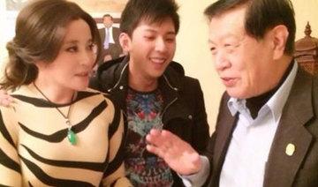 58岁刘晓庆穿肉色虎纹装