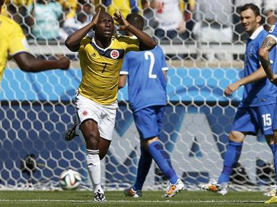 罗德里格斯锁定胜局 哥伦比亚3比0希腊